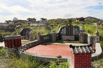 台湾の亀甲墓