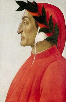 ダンテ サンドロ・ボッティチェッリによる肖像画(1495年)