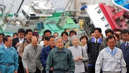 天皇、皇后両陛下東日本大震災の被災地巡ってきました