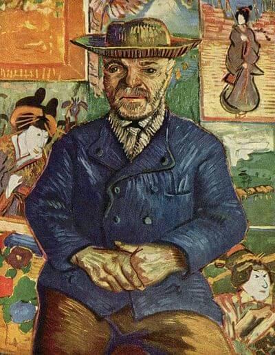 タンギー爺さん、1887年冬頃