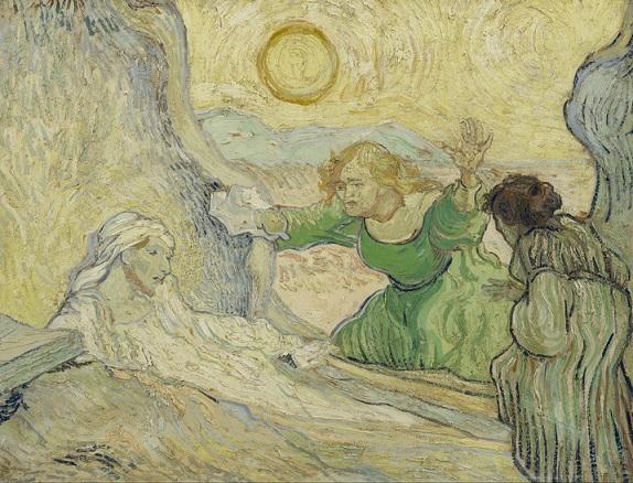 The Raising of Lazarus (after Rembrandt) Vincent van Gogh 1890