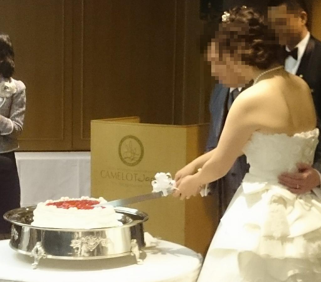 結婚式参加