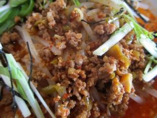 火鳳 スペシャル担々麺 具 (2)