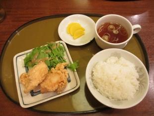 さんぽう亭五泉 若鶏の唐揚セット