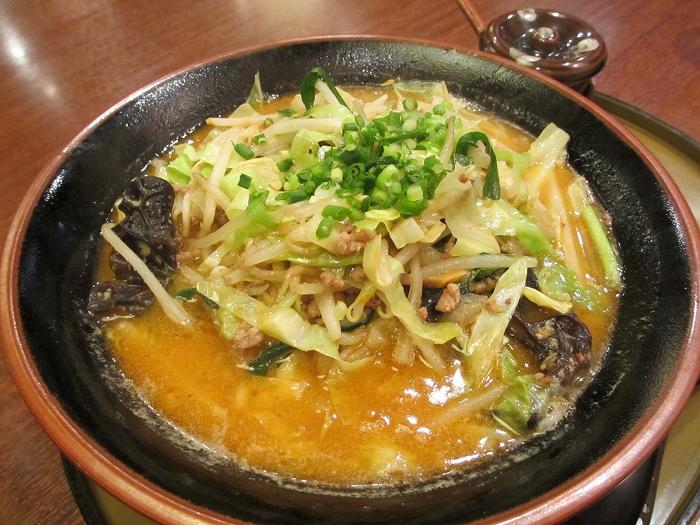さんぽう亭五泉 野菜タップリ味噌ラーメン