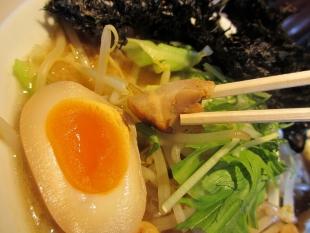 中田製作所 煮干味噌野菜ラーメン岩海苔 具 (2)