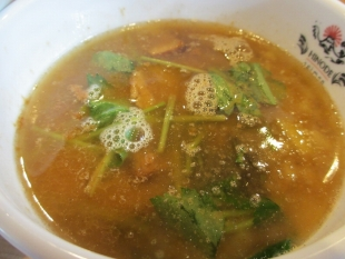 日の出製麺 濃厚煮干つけ麺 つけ汁