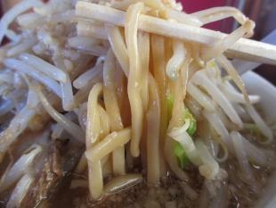 織蔵 ラーメン野菜増増 麺