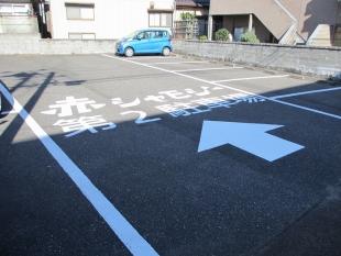 赤シャモジ新潟東 駐車場