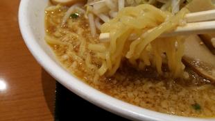玄 味噌野菜ラーメン 麺