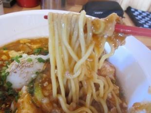 麺マッチョ本店 豚バラ肉の麻婆麺 麺