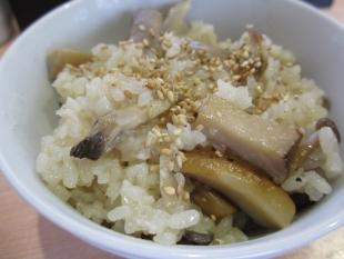 麺や来味弁天 キノコご飯