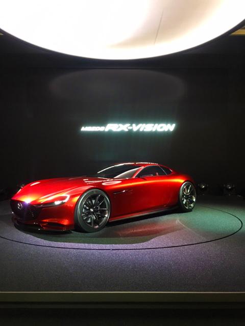 RX-VISION 東京モータショーにて