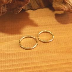 18金 オーダーメイド 結婚指輪