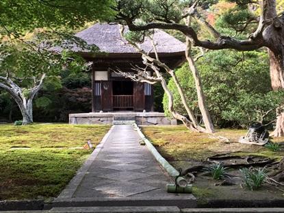 特別公開中の長寿寺