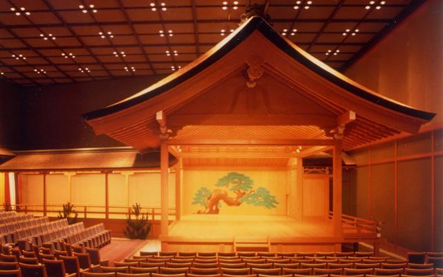 奈良県新公会堂・能楽ホール
