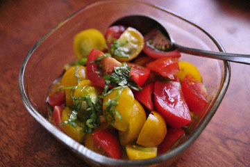 blog 33 Cooking, Hijiori Onsen Vegetables, Tomato Salad_DSC9743-8.25.15.jpg
